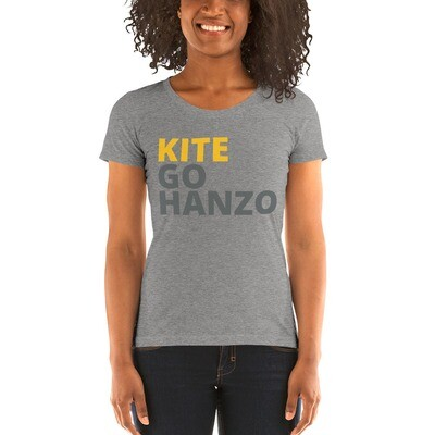 Ladies' short sleeve Kite, Go Hanzo t-shirt