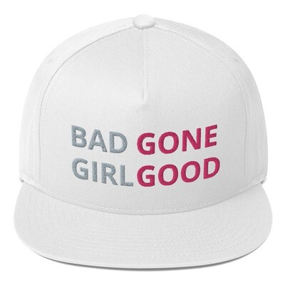 BAD GIRL GONE GOOD Flat Bill Cap