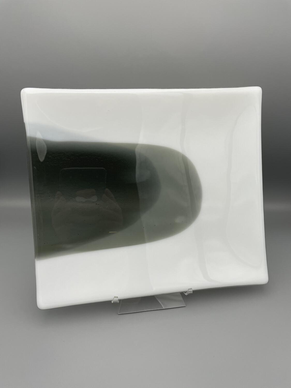 """Pulse"" Fused Glass Platter"