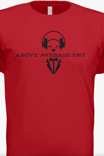 Red Short-Sleeve Shirt w/Black Logo