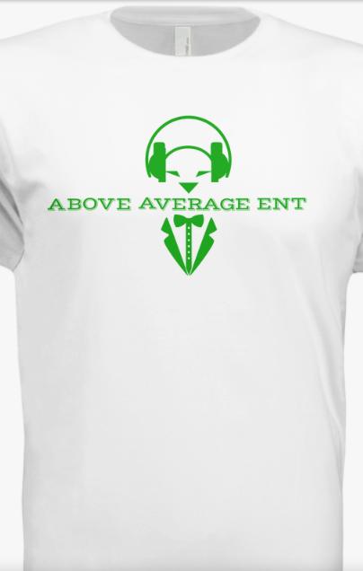 White Short-Sleeve Shirt w/ Green Logo