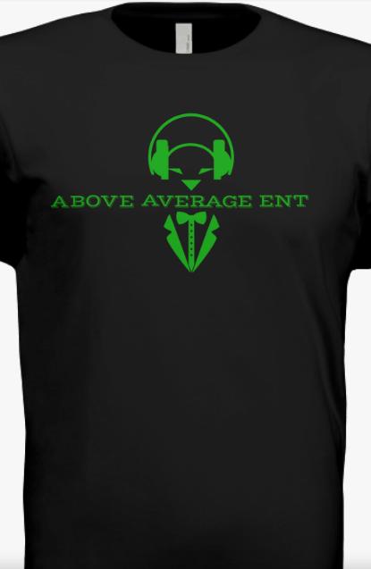 Black Short-Sleeve Shirt w/Green Logo