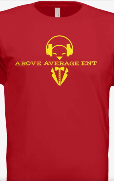 Red Short-Sleeve Shirt w/Yellow Logo