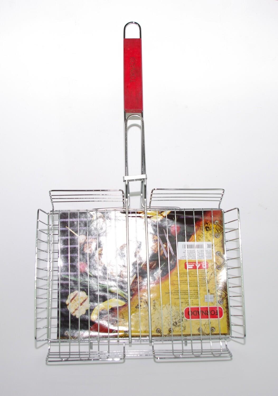 Глубокая решетка-гриль для мангала 35х27 см