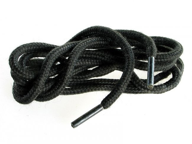 """Шнурки кевларовые """"Спецназ"""" 200 см. Чёрные"""