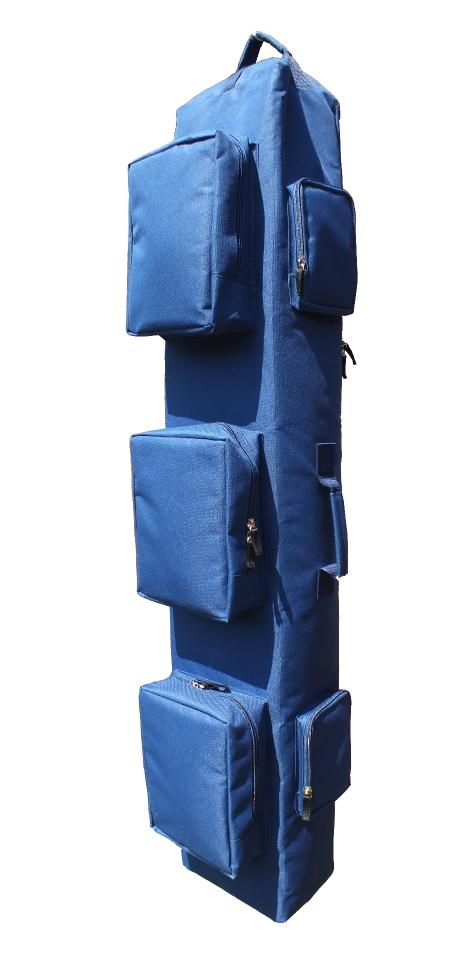 """Тактический однолямочный рюкзак для ношения оружия """"SILOVIKI 120"""". Синий. Распродажа"""
