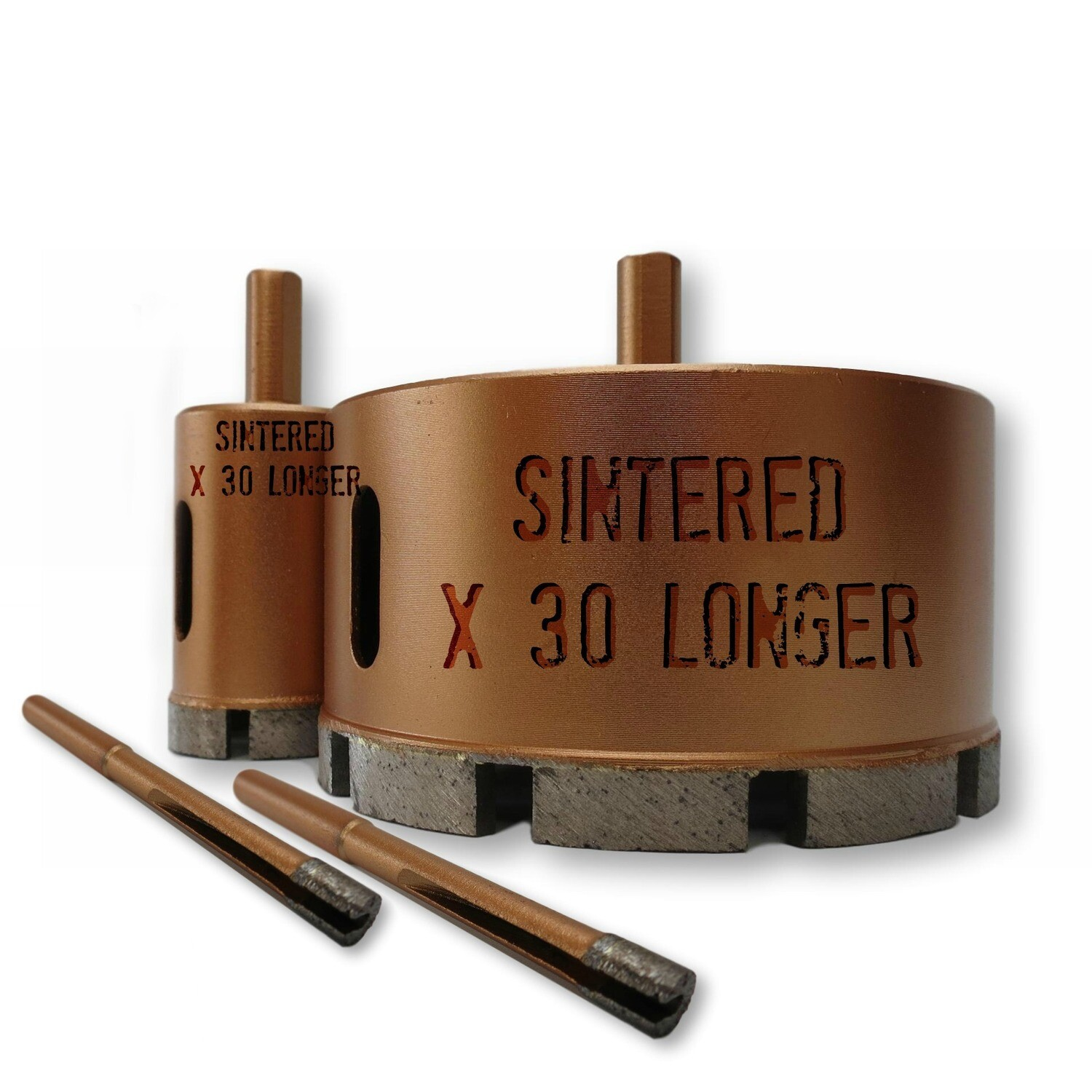30 to 100mm Sintered Drill Bits
