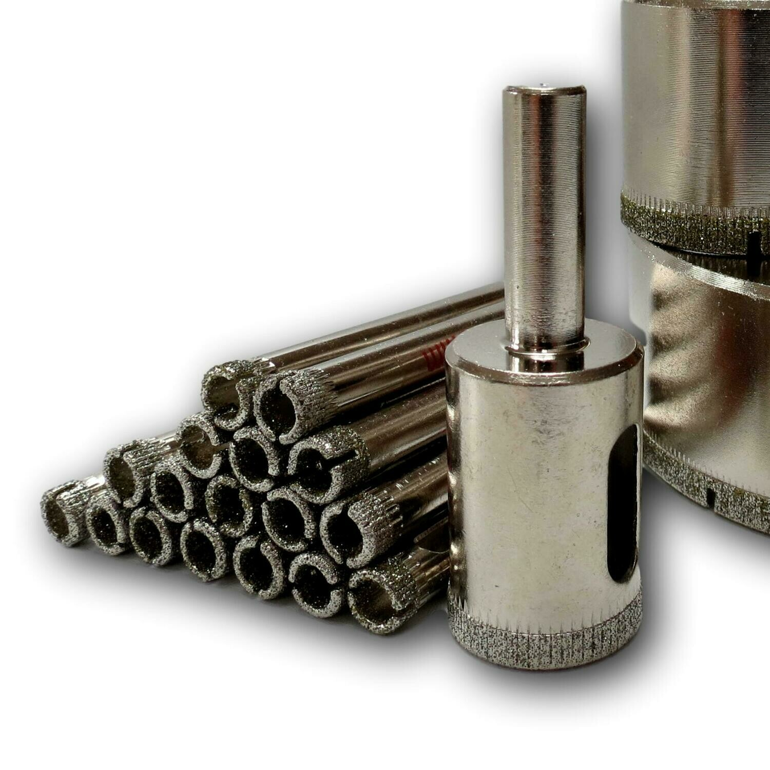 3 to 25mm Diamond Drill Bits