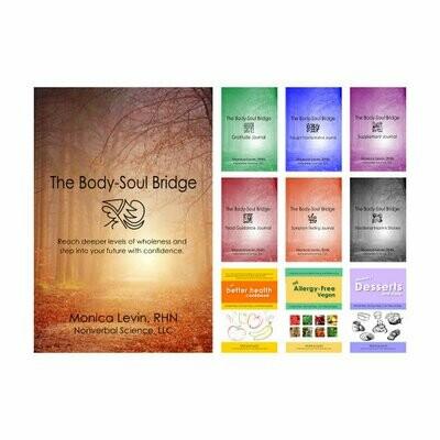 The Body-Soul Bridge & Journals & Recipe Book Set