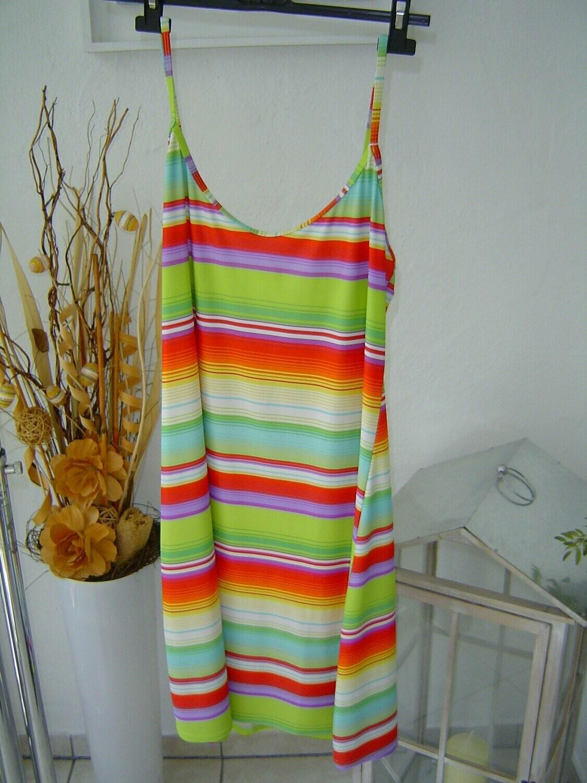 damen kleid gr. 38, 40 aus badestoff stretch strandkleid badekleid