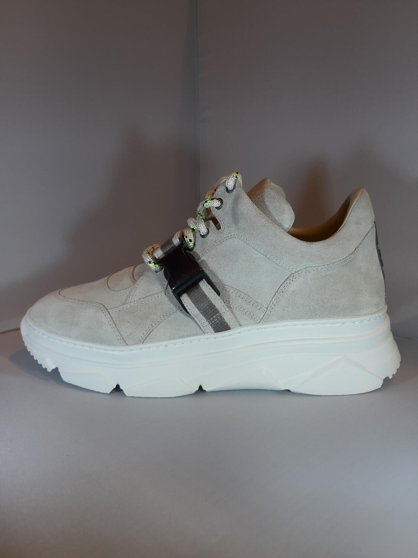 181   Sneaker grijs daim