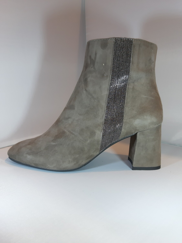 Catwalk   Boot hak taupe daim