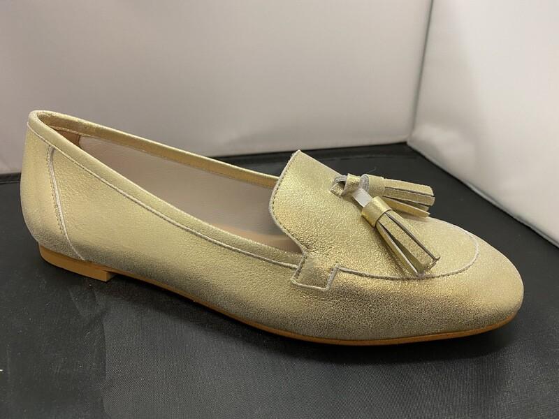 Catwalk/ mocassin goud