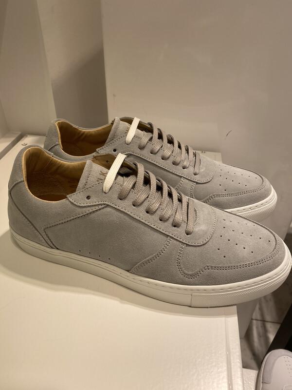 Catwalk / herensneaker grijs daim