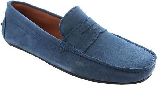Catwalk / mocassin jeansblauw