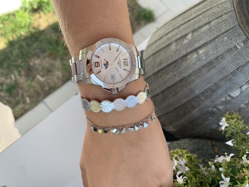 Zilveren Armbandje Fijn met Bolletjes