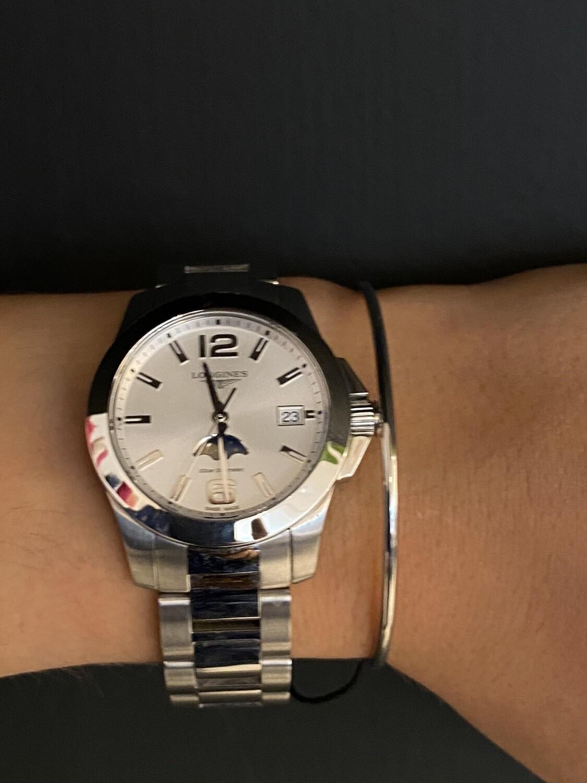 Zilveren Fijne Armband Met Koordje
