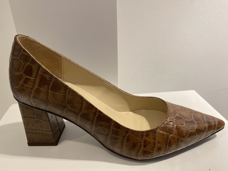 FRIDA PUMP COGNAC COCO