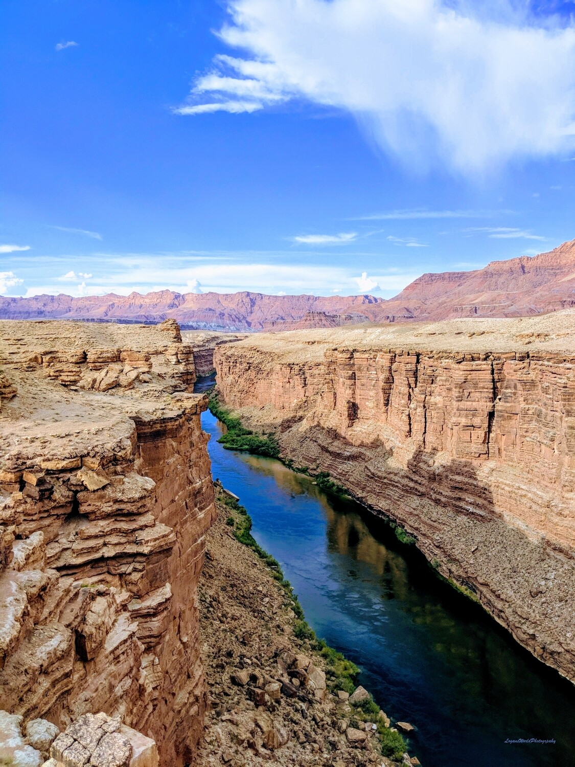 "Colorado River 9"" x 12"" Photo Print"