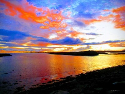 Borgarnes Sunset, Iceland 9