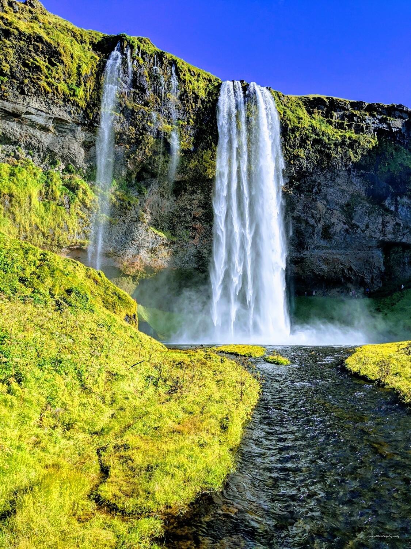 """Seljalandsfoss Falls and River 12"""" x 16"""" Photo Print"""
