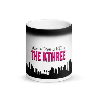 The KThree Matte Black Magic Mug