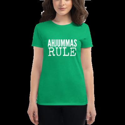 AHJUMMAS RULE - Womens T-shirt