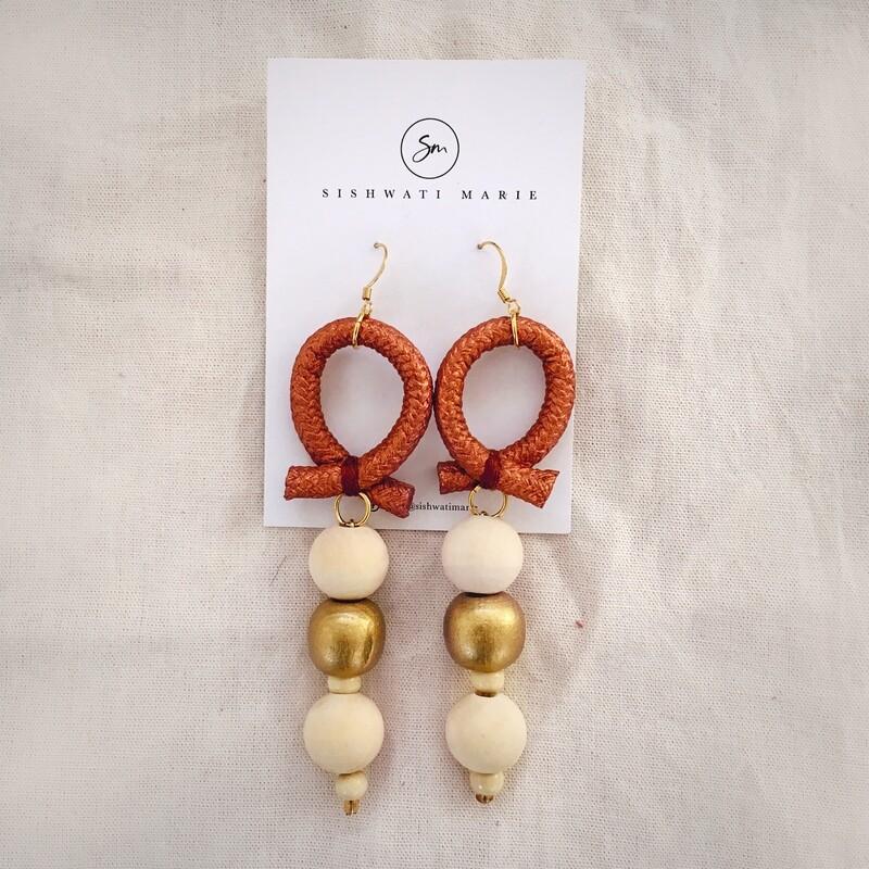 Sishwati Marie Golden Earrings