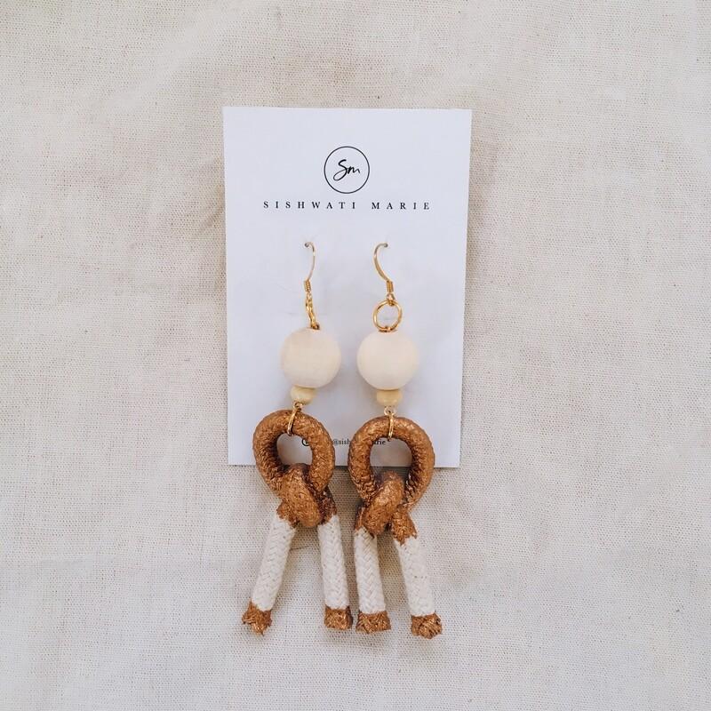 Sishwati Marie Goddess Earrings