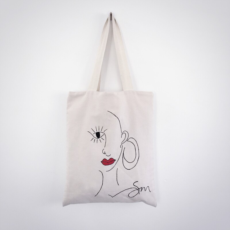 Miss Brianna Tote Bag