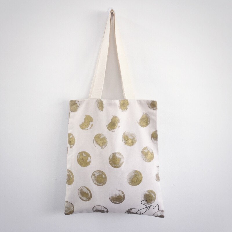 Gold Coin Tote Bag