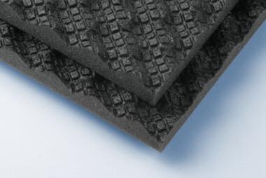 soni Wave - schwarz - 30 mm - selbstklebend