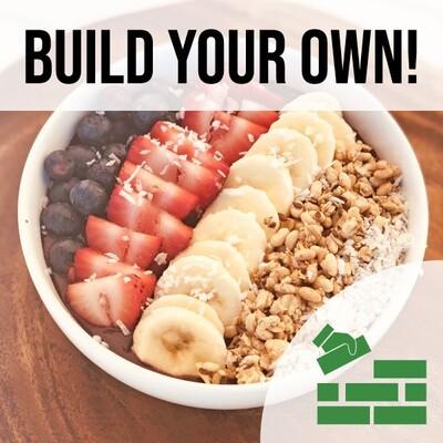 Build Your Own Açaí Bowl