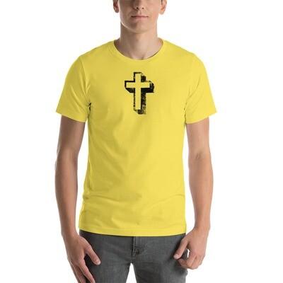 Short-Sleeve Cross design Unisex T-Shirt