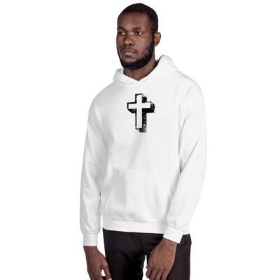 Unisex Cross design Hoodie