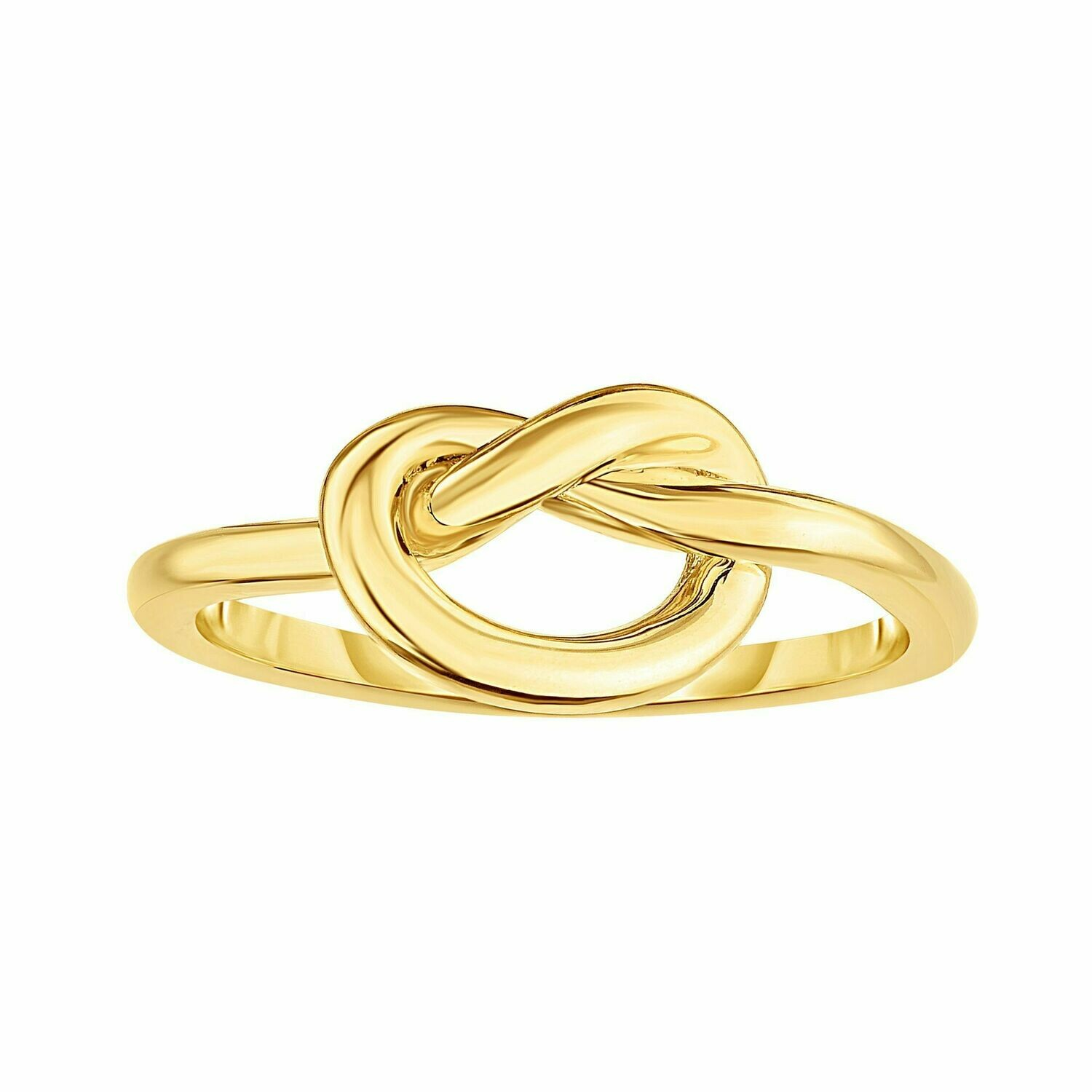 14K Gold Love Knot Ring