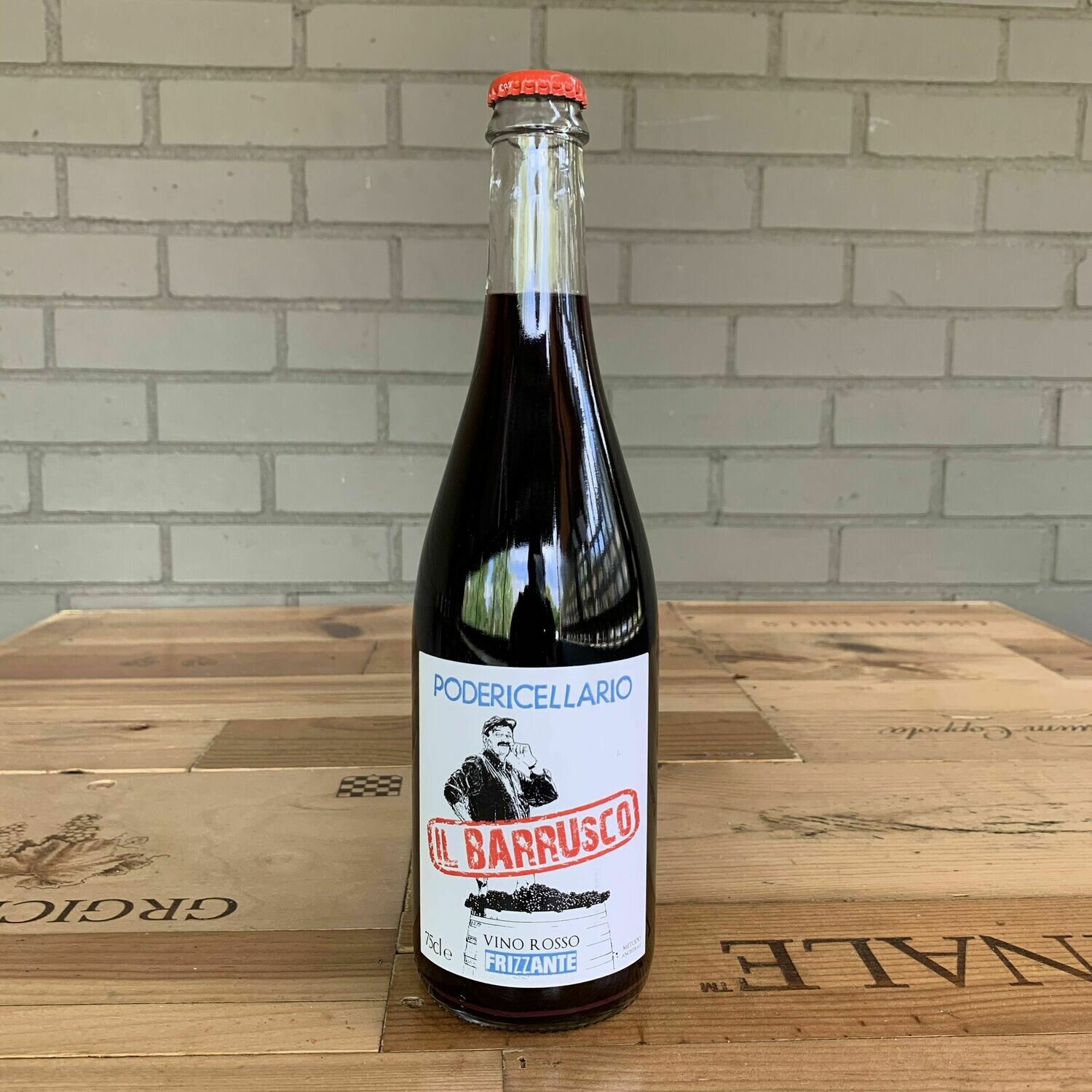 Poderi Cellario 'Il Barrusco' Frizzante (750ml)