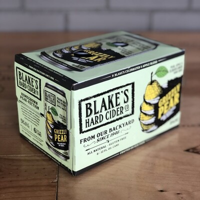 Blake's Grizzly Pear Hard Cider (6pk)