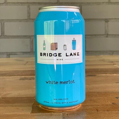 Bridge Lane White Merlot (375 ml Can)