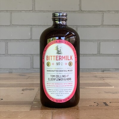 Bittermilk Cocktail Mixer No. 2 - Tom Collins with Elderflower & Hops (17 fl oz)
