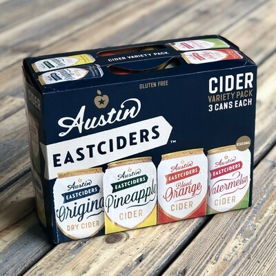 Austin Eastciders Variety Pack (12pk)
