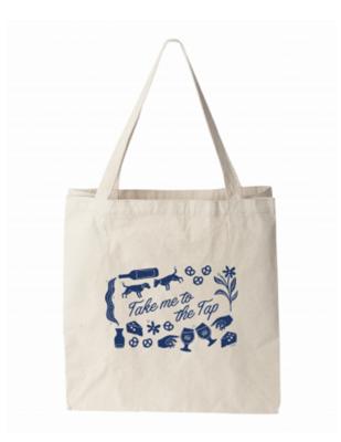 Take Me To The Tap Tote Bag