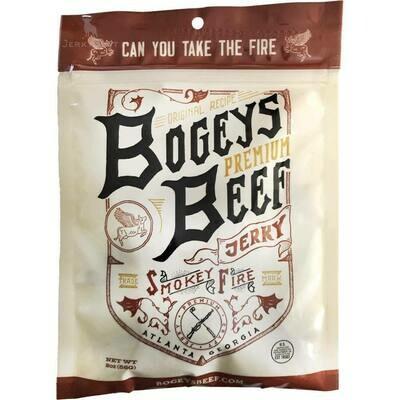 Bogeys Premium Beef Jerky - Smokey Fire (2oz)