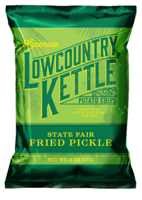 Lowcountry Kettle Potato Chips - State Fair Fried Pickle (2oz)