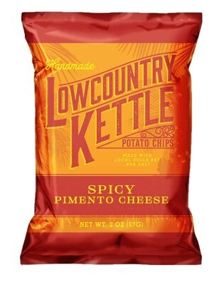 Lowcountry Kettle Potato Chips - Spicy Pimento Cheese (2oz)