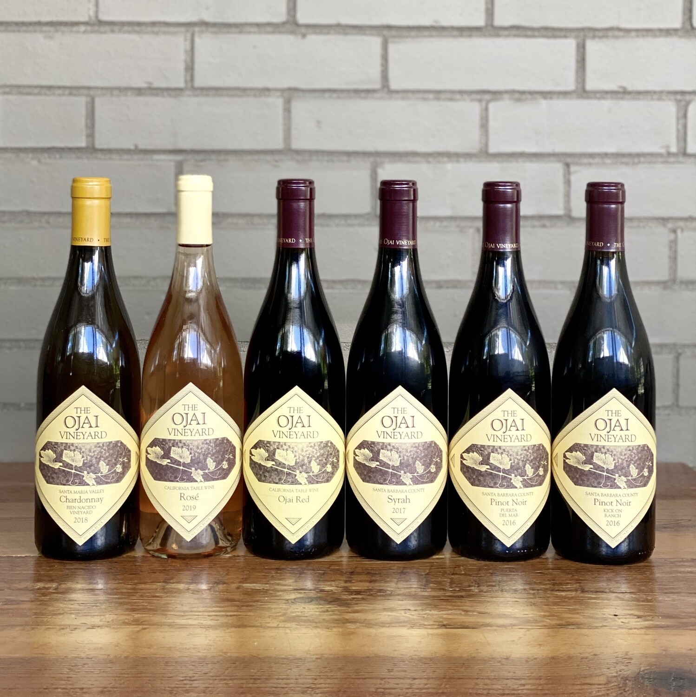 Ojai Vineyard 6-pack (+FREE bottle of Pinot Noir)