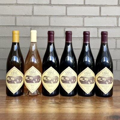 Ojai Vineyard 6-pack (+FREE bottle of Pinot Noir)