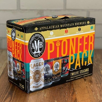 Appalachian Mountain Brewery Pioneer Pack (12pk)