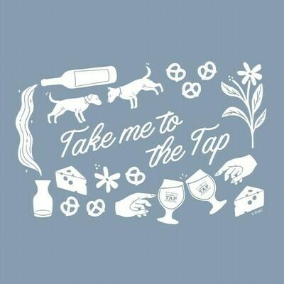 Take Me To The Tap T-shirt (Denim Tri-blend)