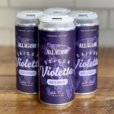Allagash Saison Violette (4pk)
